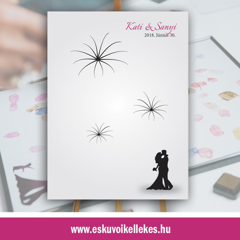 Ujjlenyomatos esküvői vendégkönyvek (01)