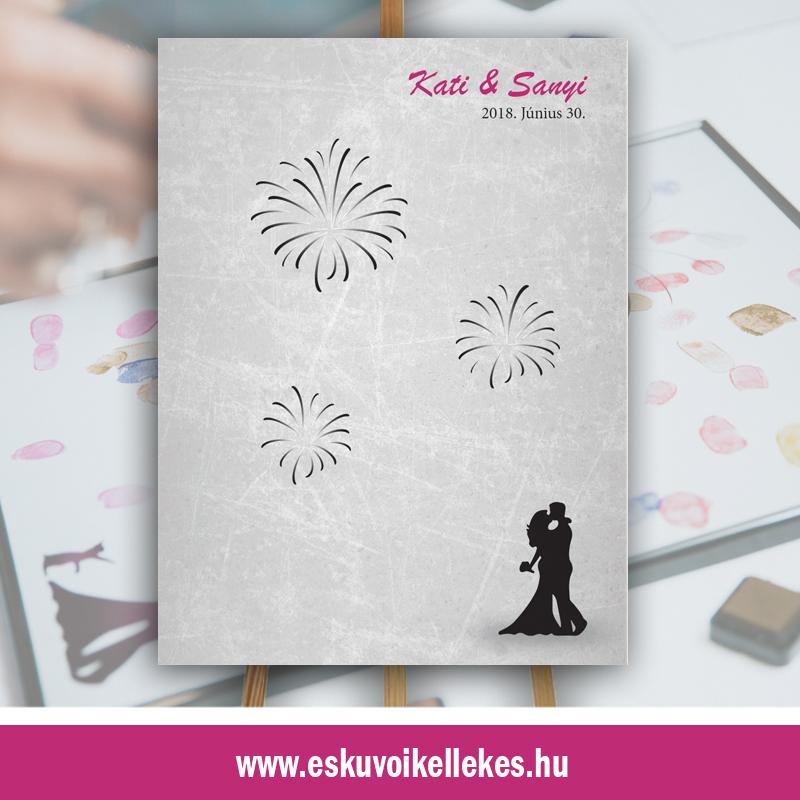 Ujjlenyomatos esküvői vendégkönyv (02)