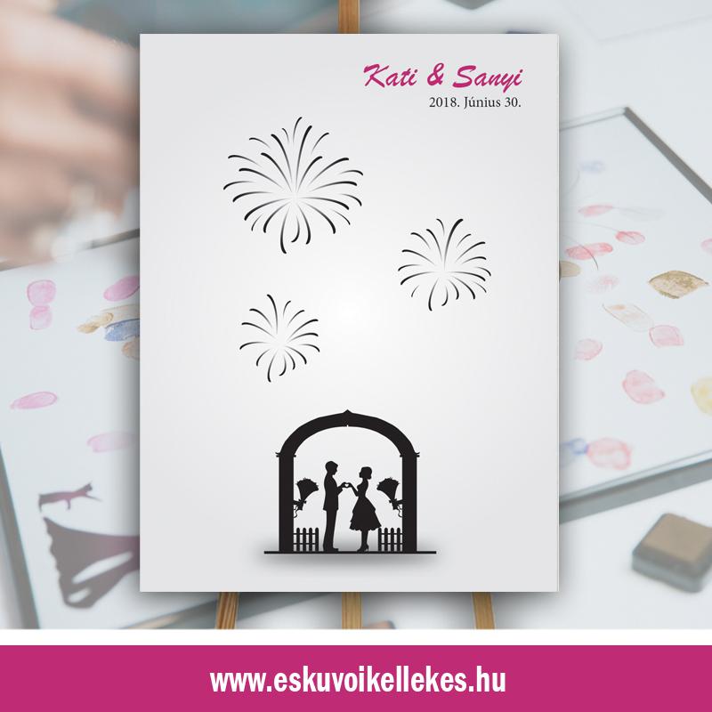 Ujjlenyomatos esküvői vendégkönyv (03)