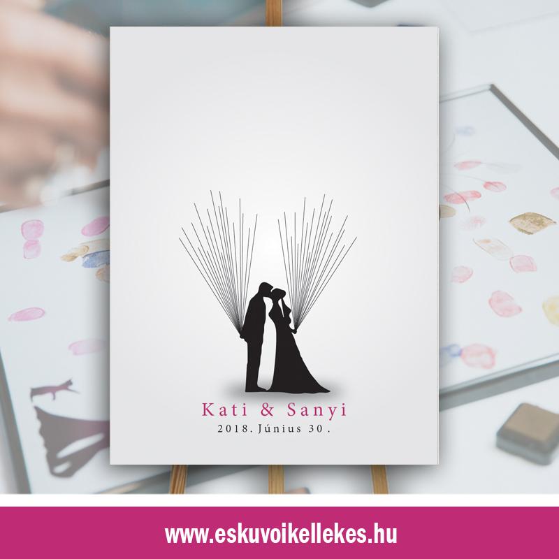 Ujjlenyomatos esküvői vendégkönyv (07)