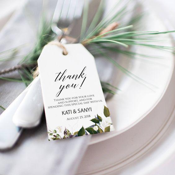 8 Esküvői köszönetajándék, amivel biztos lenyűgözitek a vendégeiteket